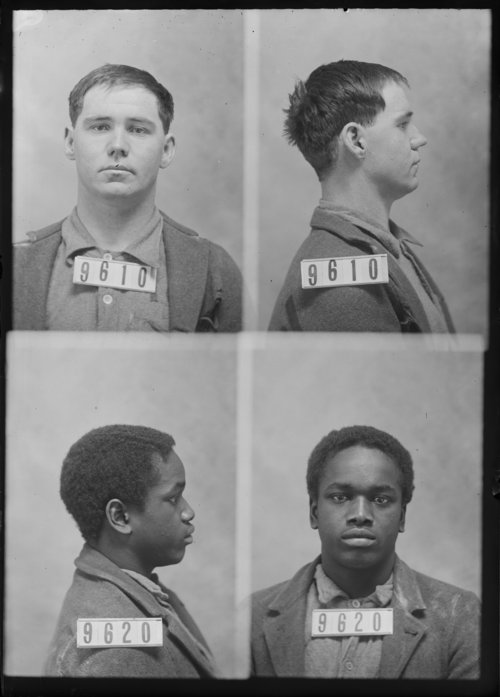 Chas Thompson and Fred Brown, prisoners 9610 and 9620 - Page