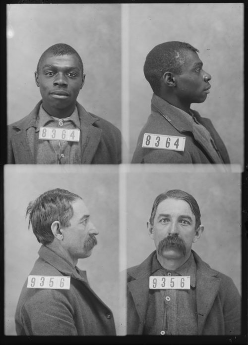 George Anderson and Frank Hardman, Prisoners 8364 and 9356, Kansas State Penitentiary - Page