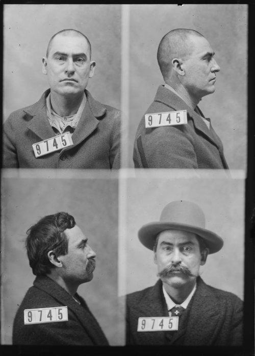 Joe Runnells, Prisoner 9745, Kansas State Penitentiary - Page