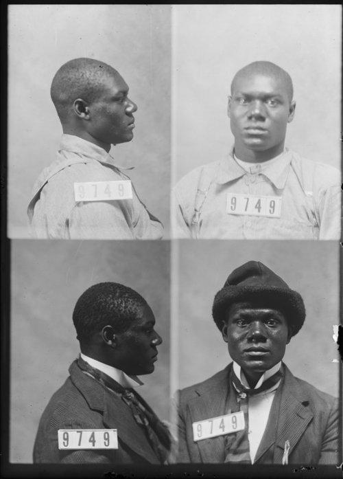 Robert Robinson, Prisoner 9749, Kansas State Penitentiary - Page