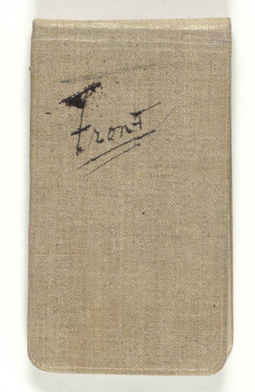 Henry Justin Allen's World War I notebooks - Page