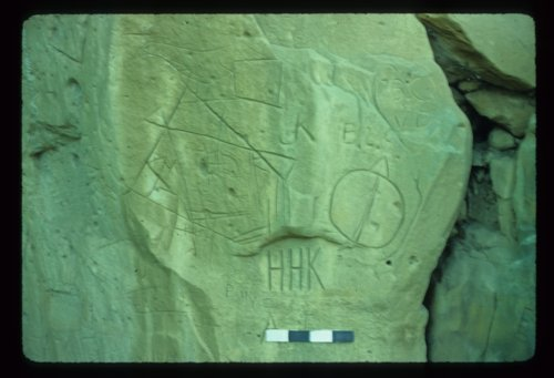 Petroglyphs from the Rocky Springs Site, Russell County. - Page