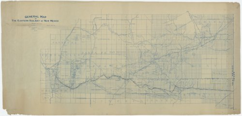 General map of the Eastern Railway of New Mexico - Page