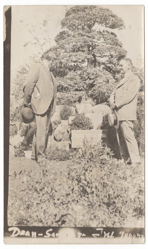 Henry Ezra Dean at the Japanese Tea garden in San Francisco, Calfornia - Page