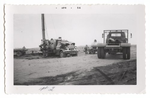 Drilling the Mahan-Tarr #2 oil well in Barber County, Kansas - Page