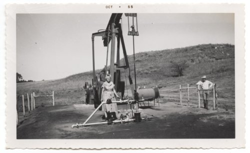 Mahan-Tarr #1 oil well in Barber County, Kansas - Page