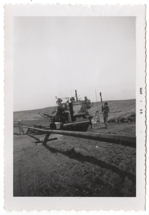 A gas line on the Mahan-Tarr ranch in Barber County, Kansas - Page