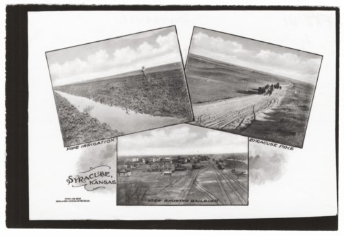 Postcard views of Syracuse, Hamilton County, Kansas - Page
