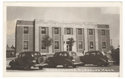 The new Hamilton County courthouse, Syracuse, Kansas - Page