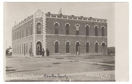 Hamilton County, Kansas courthouse - Page