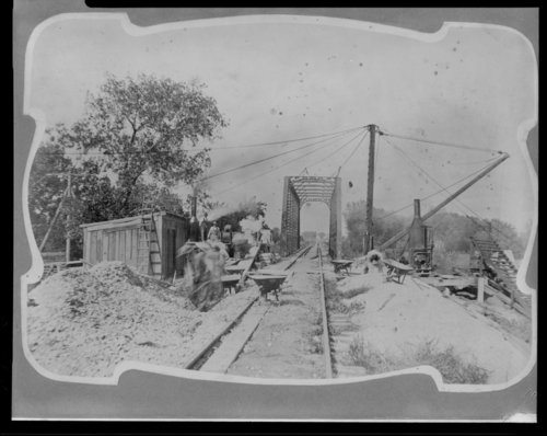 Salina and Northern Railroad bridge, Saline County, Kansas - Page