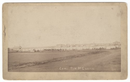 Camp of the 2nd Regiment, Kansas National Guard near Hugoton, Stevens County, Kansas - Page