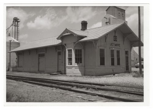 Atchison, Topeka & Santa Fe Railway Company depot, Jetmore, Kansas - Page