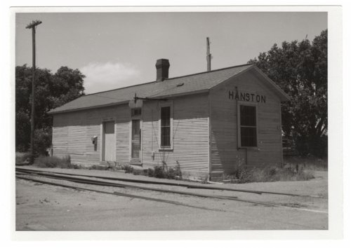 Atchison, Topeka & Santa Fe Railway Company depot, Hanston, Kansas - Page