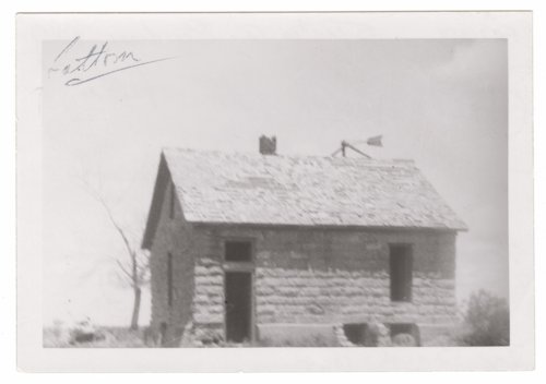 The limestone home of Phil Kreigh, Stanton County, Kansas - Page