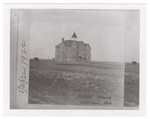 Schoolhouse, Johnson City, Stanton County, Kansas - Page
