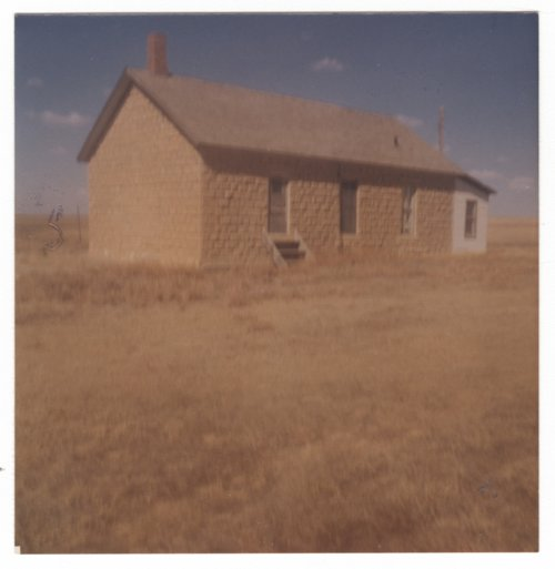 Sod schoolhouse, Hodgeman County, Kansas - Page