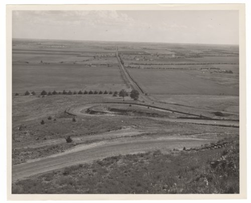 View from Coronado Heights in Saline County, Kansas - Page