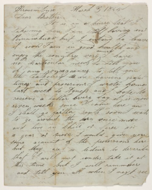 Mitchell family letters - Page
