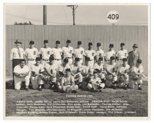 Topeka Hawks baseball team - Page