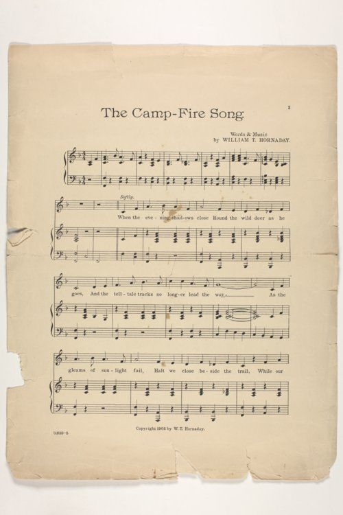 The camp-fire song - Page