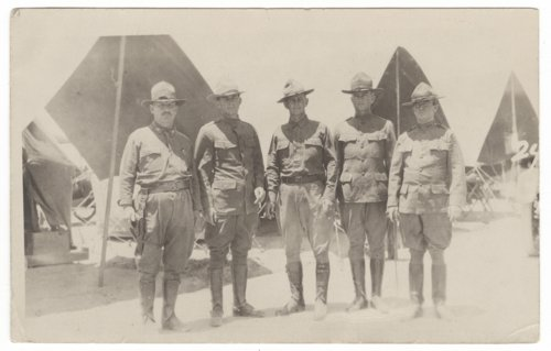 Officers at Eagle Pass during the Mexican Punitive Expedition - Page