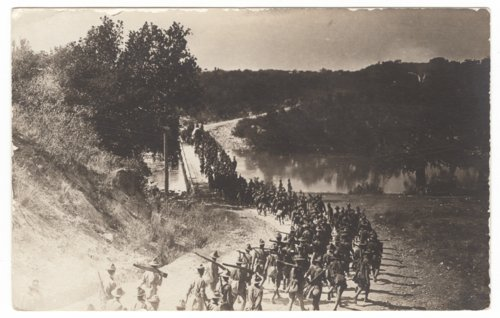 Soldiers marching from San Antonio to Austin, Texas - Page