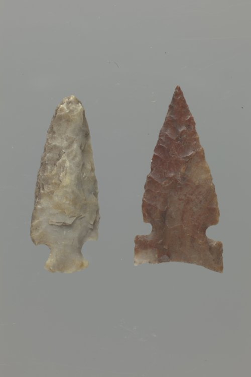 Corner-Notched and Side-Notched Arrow Points from Meade County - Page