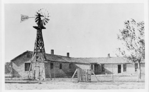 Ranch house of Henry S. Mudge, Hodgeman County, Kansas - Page