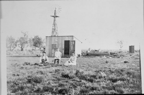 The Jesse J. Henry family on their Stanton County, Kansas homestead - Page