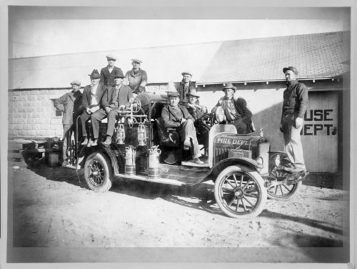 Syracuse, Hamilton County, Kansas fire department - Page
