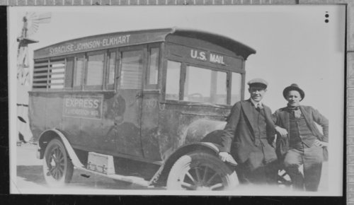 United States mail delivery vehicle, used by the Syracuse, Hamilton County, Kansas post office - Page