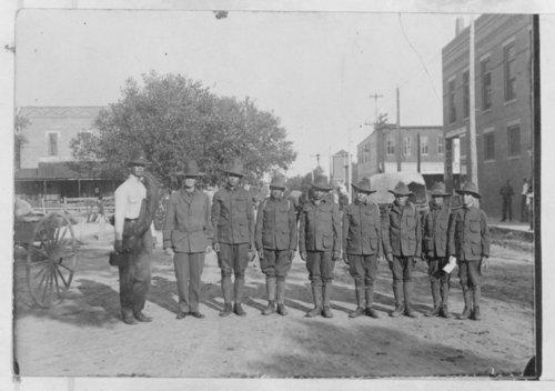 Boys dressed as soldiers, Syracuse, Hamilton County, Kansas - Page