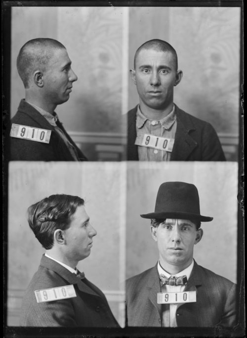 Clarence White, prisoner 910, Kansas Stae Penitentiary - Page