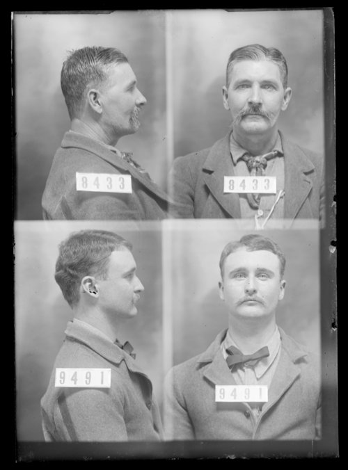 "J.E. ""Eb"" Martin and Edward Lane, Prisoners 8433 and 9491, Kansas State Penitentiary - Page"