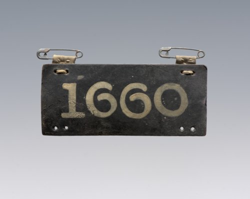 Prisoner of War identification tag - Page
