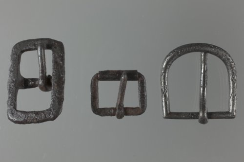 Horse Tack Buckles from the Village on the Pawnee Fork, 14NS403 - Page