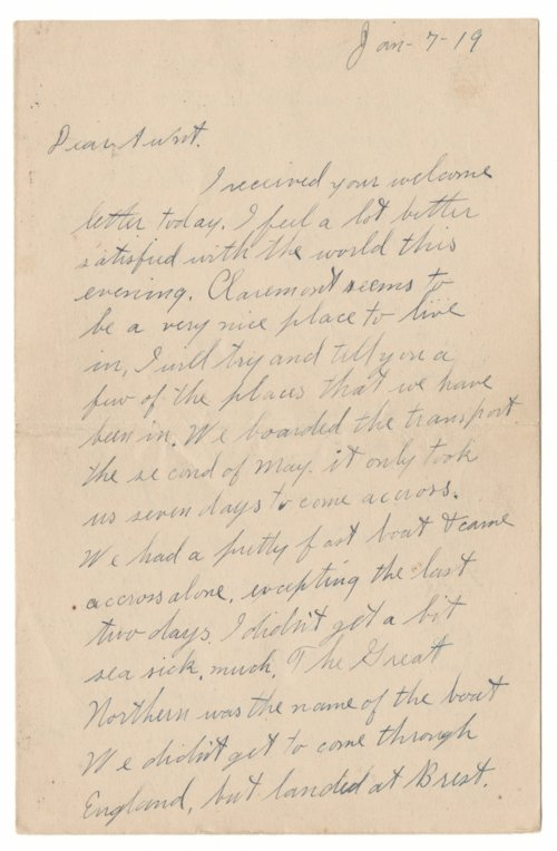 Arthur Willard Harwood to Mrs. E. R. Harwood - Page