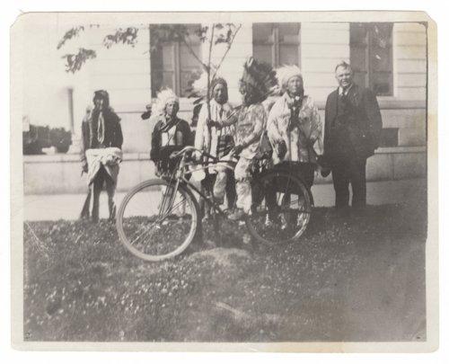 Kiowa Indians, Topeka, Kansas, - Page