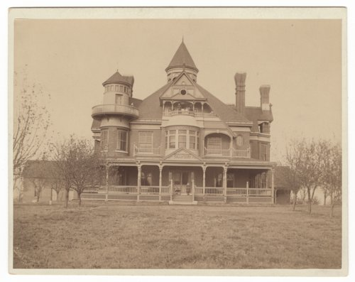 "Exterior views of John D. Knox's ""Belvoir"" home in Topeka, Kansas - Page"