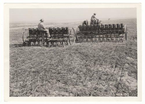 Planting crops, Morton County, Kansas - Page