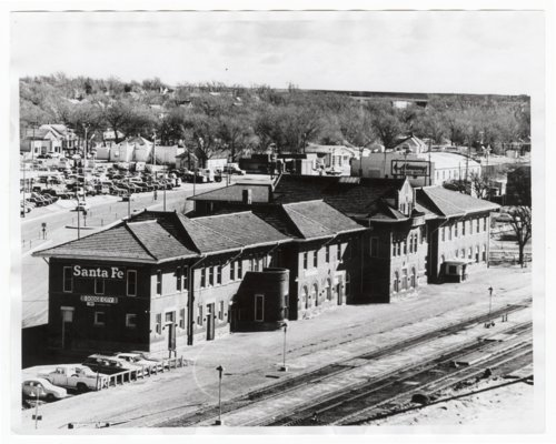 Atchison, Topeka and Santa Fe Railway Company depot, Dodge City, Kansas - Page