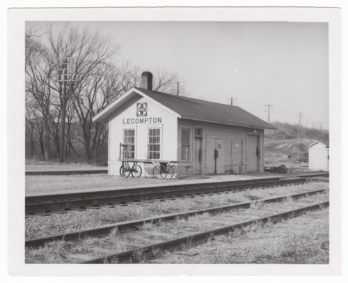 Atchison, Topeka and Santa Fe Railway Company depot, Lecompton, Kansas - Page