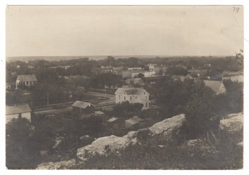 View of Council Grove, Kansas from Belfry Hill - Page