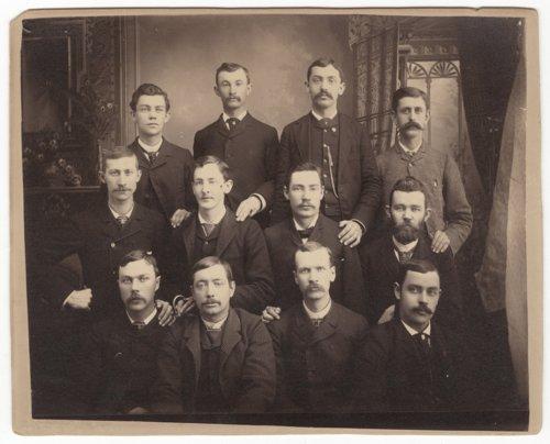 Group portrait in Council Grove, Kansas - Page