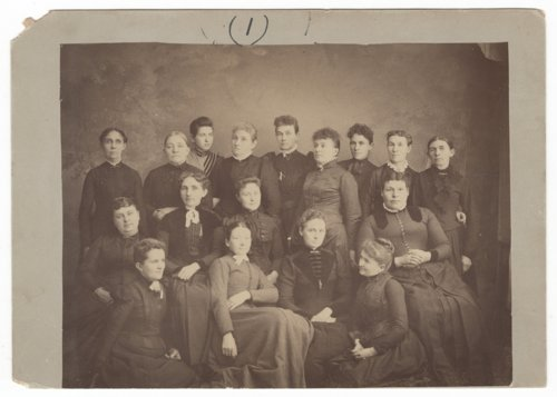 Ladies Aid Society group portrait - Page