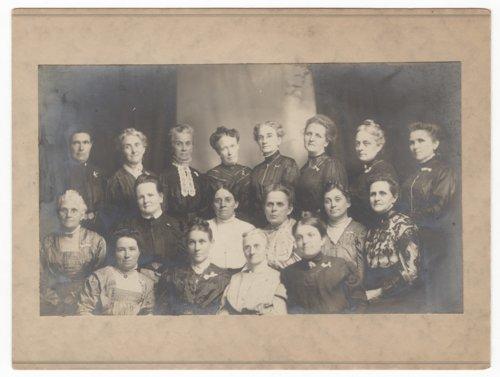 Women's Christian Temperance Union group portrait - Page