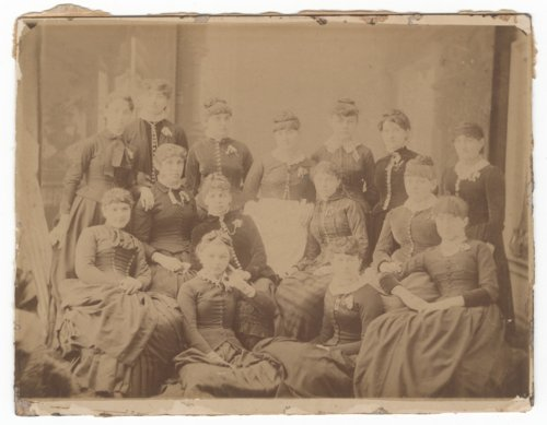 Women's group portrait, Council Grove, Kansas - Page