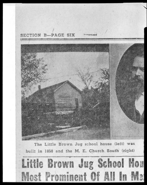 Little Brown Jug School - Page