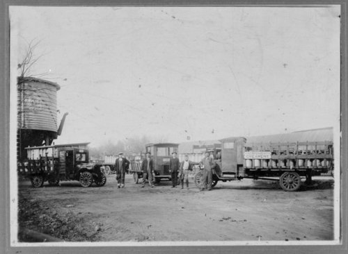 Independent Creamery delivery trucks - Page